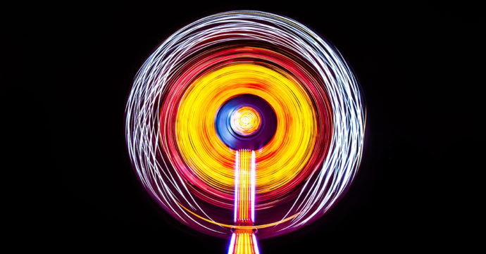 spinning light up toy