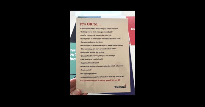 torchbox workplace wellbeing manifesto